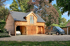 Oak Garages With Room Above Accommodatione
