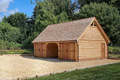 Oak Garages With Room Above Outbuildings Accommodation