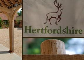 Hertfordshire oak garages