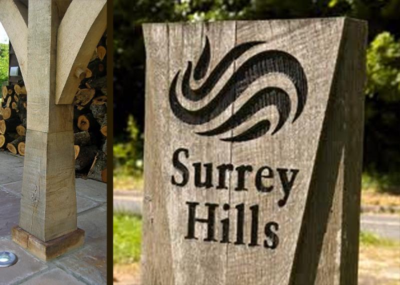 Surrey oak beam image