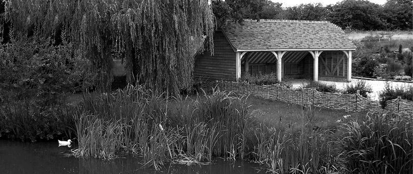 Wiltshire Oak Framed 3 Bay Garage