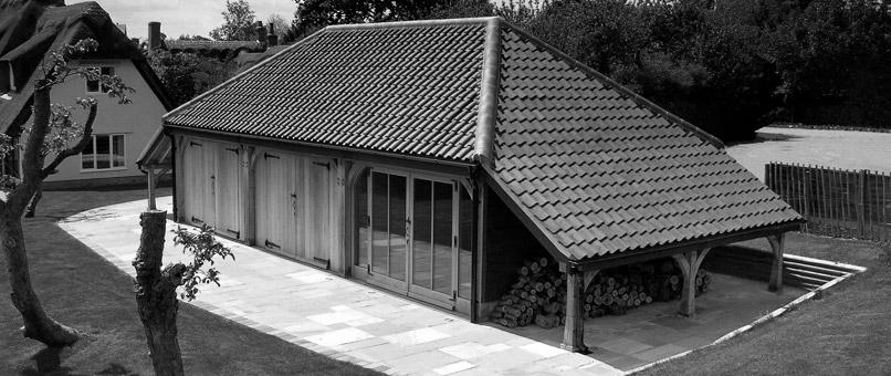 Hertfordshire Oak Garage