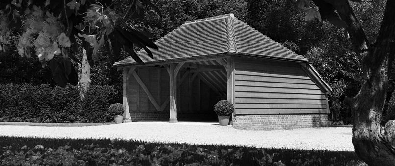 Wiltshire 2 bay Oak Garage