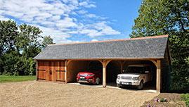 Classic Barn Company Oak Garage Isle of Wight