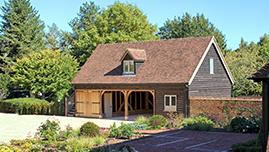 Timber Framed Oak Barn Building In Worcestershire