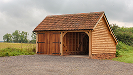 Timber Oak Framed Barn Building in Surrey